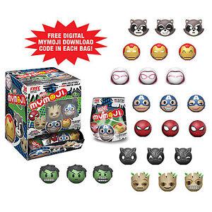 Funko-Marvel-Series-1-Mymoji-Blind-Bag-Minifigure-4-Blind-Bags-NEW-Toys-Mystery