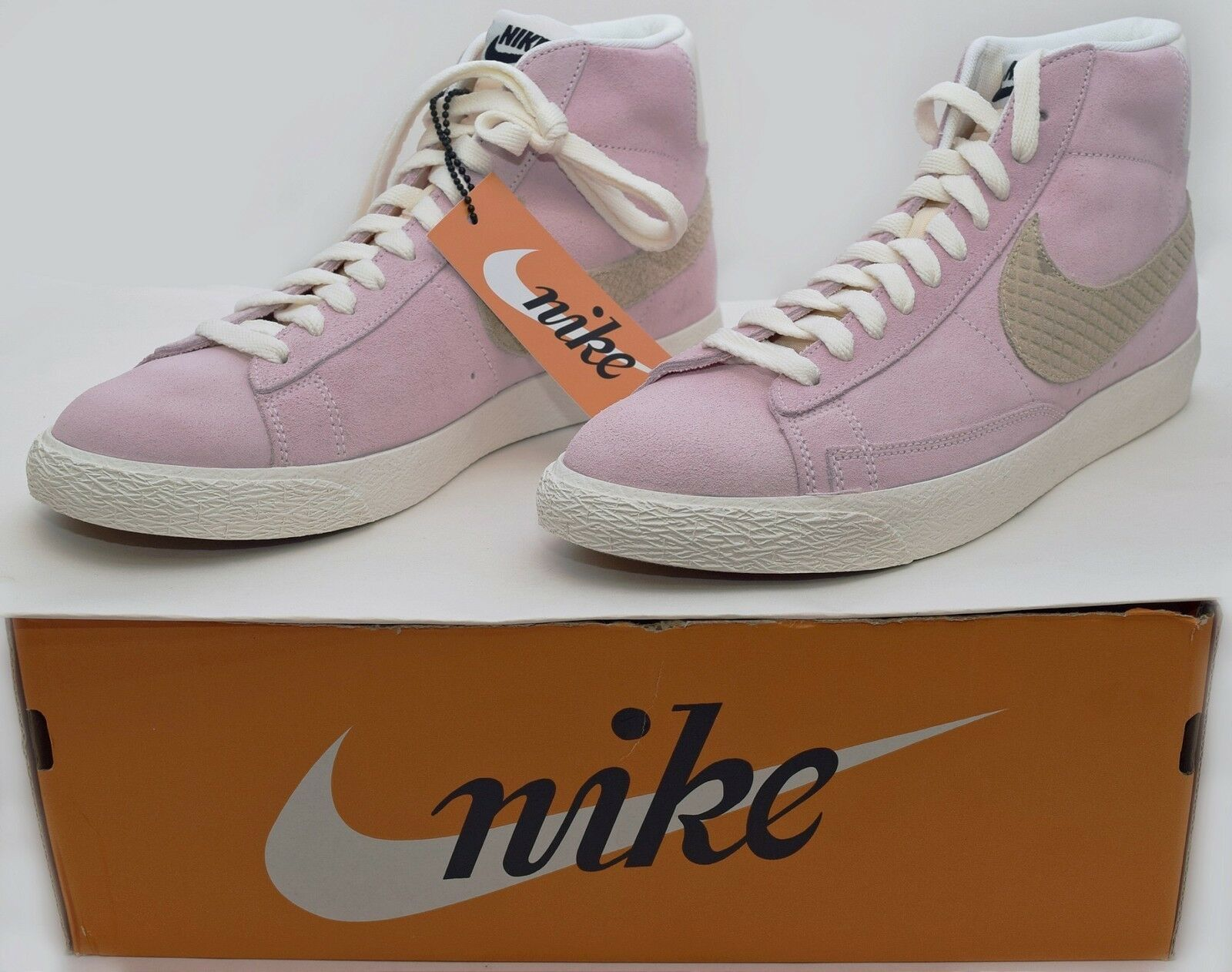 NEW Nike Mens Size 10.5 Shoes Pink Blazer Mid Premium Shoes 10.5 Ice Cream Pack 638322-601 8bfc56