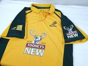 Kooga-2011-Tooheys-New-Australia-Wallabies-Jersey-Size-Men-039-s-XL