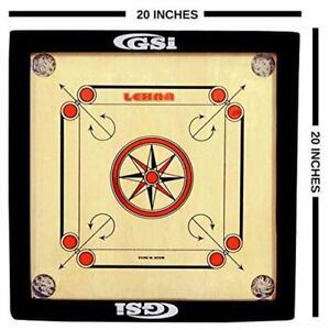 Gloss Finish Carrom Board Game For Kids & Children Free ...