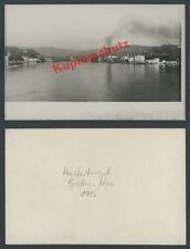 Foto Konstantinopel Kriegsmarine Kriegsschiffe Schwimmdock Bosporus Osmanen 1915