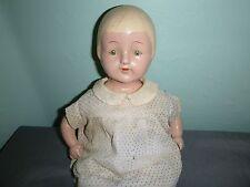 Vintage Century Doll 17'' Compo Doll TLC