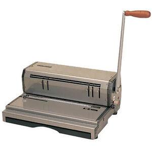 akiles rubicoil manual coil binding machine
