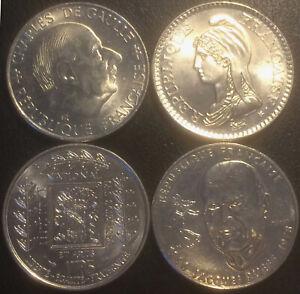 Francia-V-Repubblica-Serie-di-x4-1-Franco-Commemorative-1922-a-1996