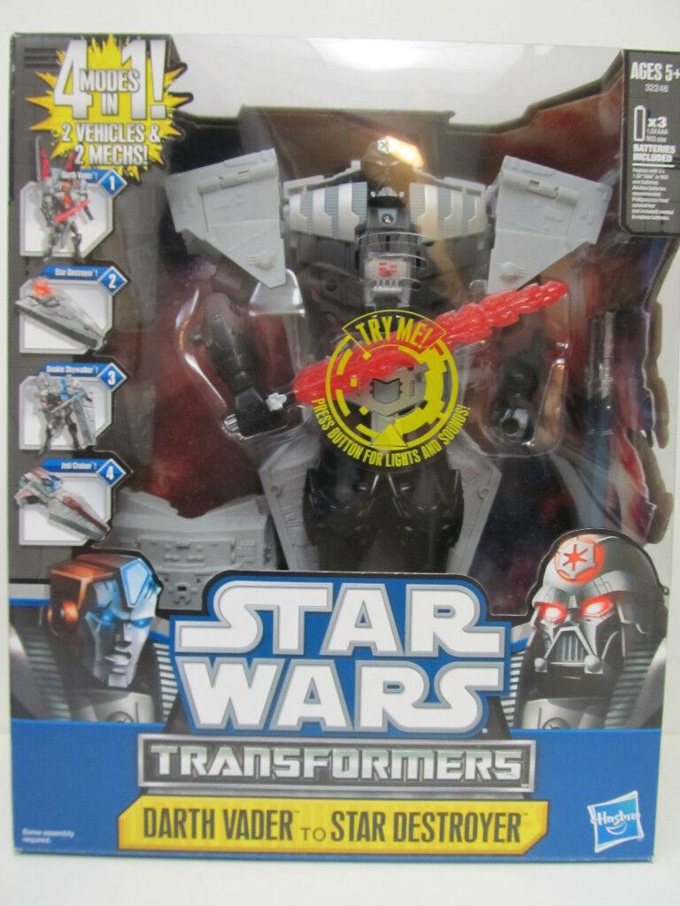 Star Wars Transformer Darth Vader to Star Destroyer