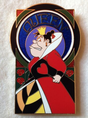 Disney Villains Series QUEEN of HEARTS AP Artist Proof LE1 GOLD Pin