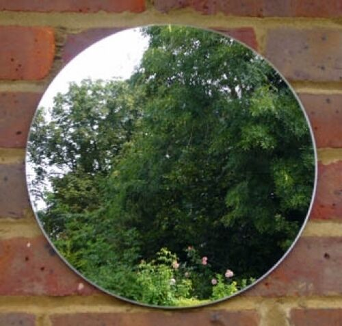 Garden Acrylic Circle Mirrors: Sizes 5cm - 45cm