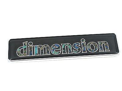 Genuine New CITROEN DIMENSION Badge Coffre pour AX 1987-1997 /& Xantia 1993-98 /& ZX
