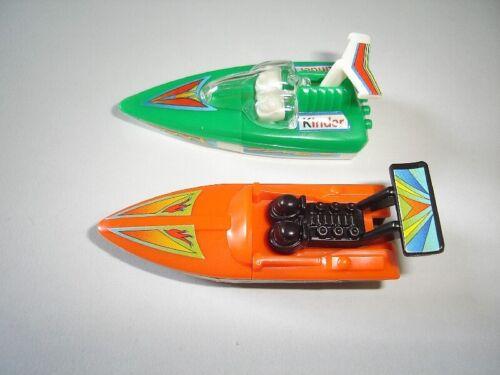SPEEDBOATS 1995 MODEL BOATS /& SHIPS SET KINDER SURPRISE TOYS MINIATURES