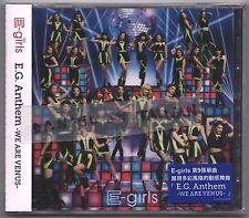 E-Girls: Anthem - We are Venus (2014) Japan / CD & DVD TAIWAN