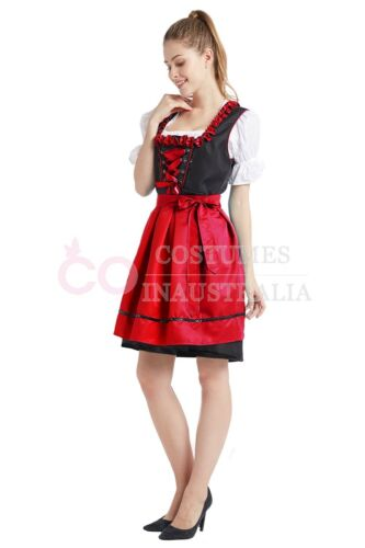 Deluxe Ladies Oktoberfest Costume Bavarian Beer Maid Wench German Fancy Dress