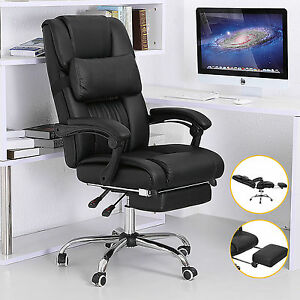 Genial Image Is Loading Executive Office Chair Reclining Leather High Back Armchair