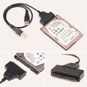 USB-2-0-zu-SATA-Konverter-Adapter-Kabel-fuer-2-5-SATA-Festplatte-Festplatte-ST
