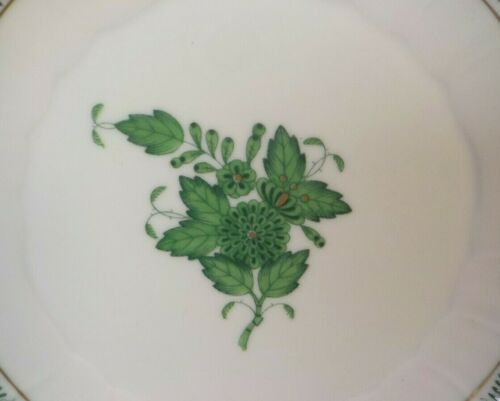 Herend CHINESE BOUQUET Green Porcelain Tea Cup /& Saucer #734