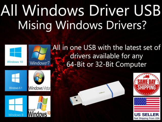 Microsoft Windows Drivers 2019 USB Install Drivers Windows XP Vista 7 8 8 1  10