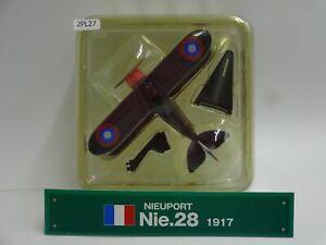 Del-prado-Nieuport-nie-28-escala-1917-1-64-Diecast-aviones-de-guerra-pantalla-27