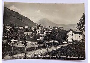 Cartolina-Bergamo-vera-foto-Costa-Imagna-viaggiata-anni-50-bianco-e-nero