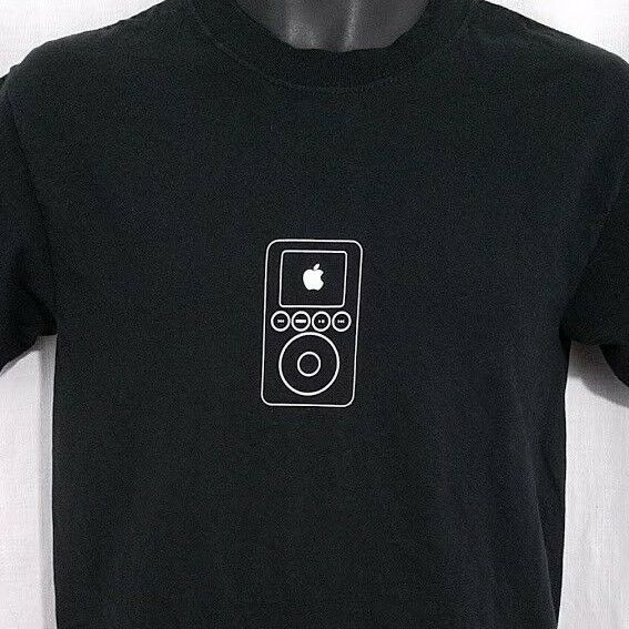 Apple iPod Mens T Shirt Vintage Live 2003 On Stage Event 3rd Generation Small