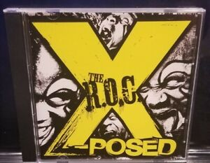 The R.O.C. - X-Posed CD 1st Press CD-R twiztid house of krazees halfbreed howse