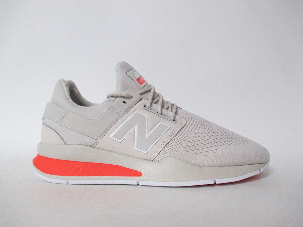New Balance 247 Cream Off White Grey Tan Sz 10 MS247TN