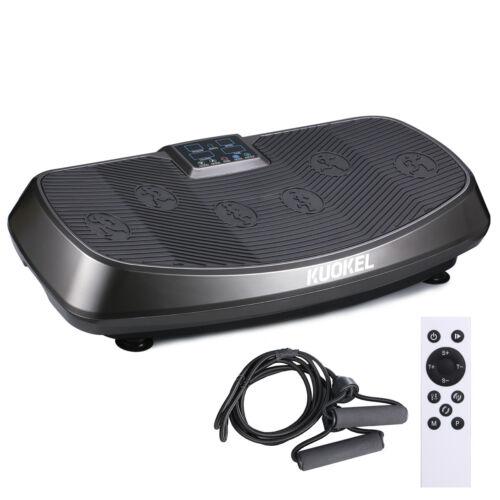 Vibration Plate Exercise Machine Whole Body Workout Fitness Platform Home Gym UK