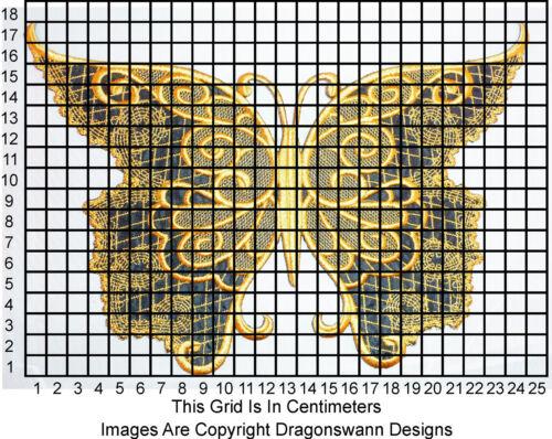 patch Grand motif papillon brodé Badge applique beaucoup de couleurs