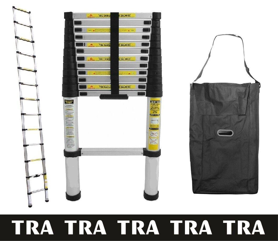 Portable Telescopic Ladder 3.2 m & Carry Bag Caravan RV Parts Jayco Accessories