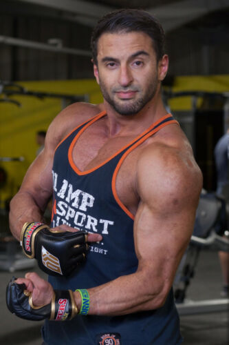 Gym Tank top RALF Navy Olimp Live and Fight