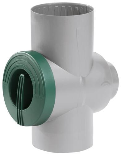 Greenlife combles Filtre avec filtersieb en acier inoxydable pour DN 100//DN 80 Gris