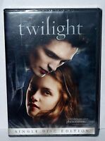 Twilight Single Disc Edition Dvd Movie Sealed