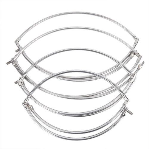 Stainless Steel Fishing Folding Net Brail Head Round Dipnet Tackle AccessoryBXJ