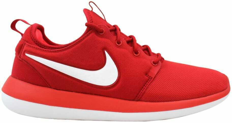 Nike Roshe Two University Red White-Track Red 844656-601 Men's Size 11