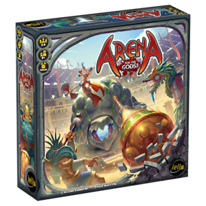 Game by iello - ARENA FOR THE GODS Board Game - Time 30 min 2 - 6 Players Age 8+
