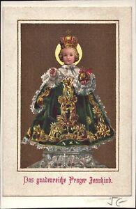 Prag-Jesus-Nino-Cuadro-Santos-Amria-Imagen-Milagrosa-Bohemia-B-6627