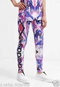 Adidas-Originals-W-Florera-Kaleidoscope-Leggings-Size-UK-8-10-New-388