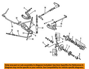 nissan oem 86 94 d21 lower control arm front strut bushings 240SX Front Suspension image is loading nissan oem 86 94 d21 lower control arm