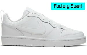 Nike Court Borough Low 2 GS blanco zapatillas moda casual