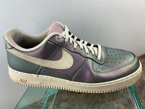 Details about Nike Air Force 1 AF1 '07 LV8 Iridescent 3M Lace Up Retro Shoes 823511 Sz 11