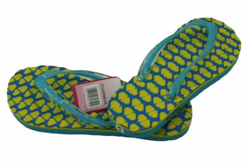 Ladies Pamela Beach Flip Flop With Soft Footbed Around//Straps in Assorted Colors