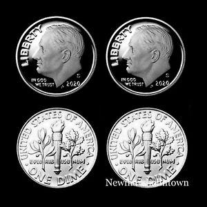 2007 P D S Silver Proof Roosevelt Dimes