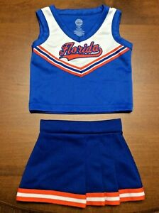 NCAA Florida Gators Infant and Toddler Cheerleader Outfit
