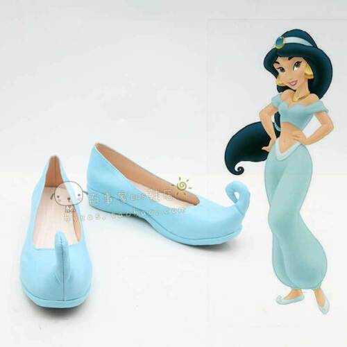 Princesse JASMINE Adulte Cosplay Chaussures Aladdin et sa lampe DANSEUSE Femmes Slip On