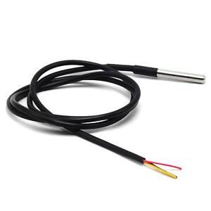 NEUE-wasserdichte-Digital-Thermal-Sonde-oder-Sensor-DS18B20-Laenge-1M