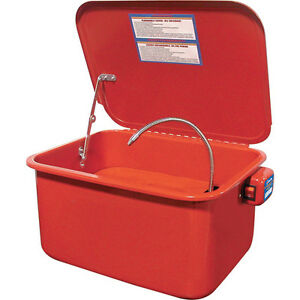 King-Canada-Tools-KPW-205-5-GALLON-RECIRCULATING-PARTS-WASHER-Bassin-Nettoyage