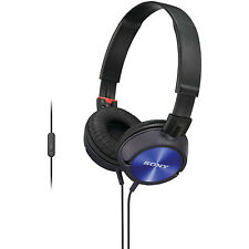 Sony MDR-ZX300AP Blue Headband Headphones With Mic/Remote - Android Smartphones