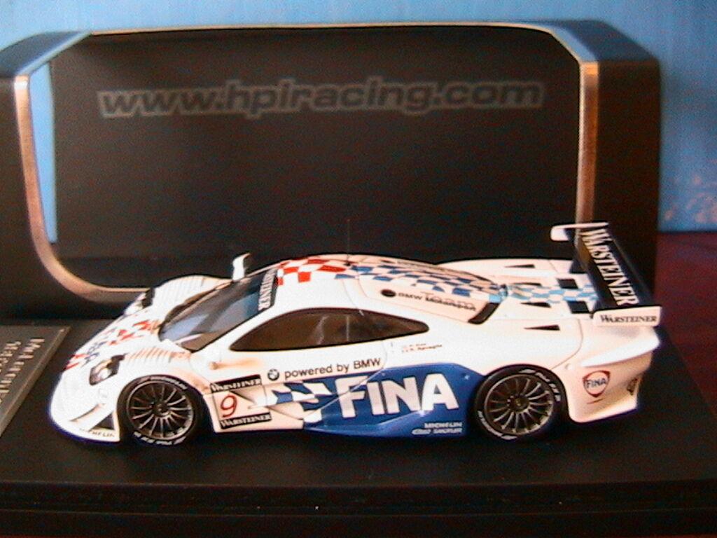 MCLAREN F1 GTR  9 1997 GP SUZUKA KOX RAVAGLIA HPI RACING 8245  FIA GT RESINE