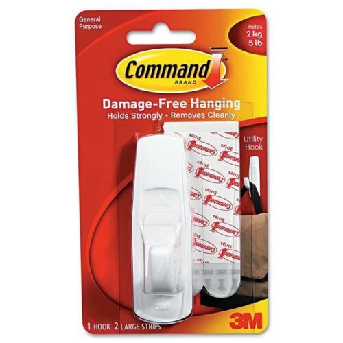 Command 3 M Grand Hanging Hook Plastic Stick Hook 17003 ustensile utilité échange
