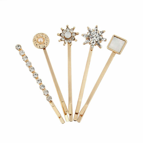 5pcs Retro Barrettes Hair Accessories Hairpin Bobby Pins Decoration for Women