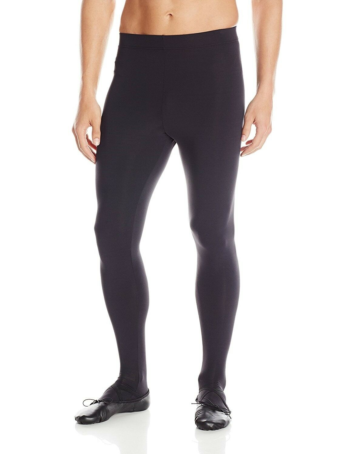 Capezio Men's Ultra Soft Footed Tights - 10361M
