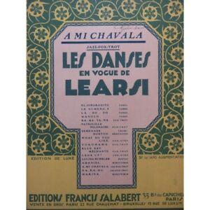 Antiquarische Noten/songbooks Learsi A Halb Chavala Piano 1919 Trennwand Sheet Music Score